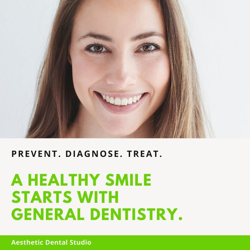 General dentistry services at Aesthetic Dental Studio