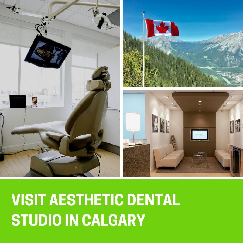 Visit Aesthetic Dental Studio from out of town